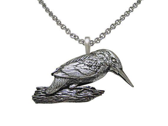 Collar pájaro Martín pescador