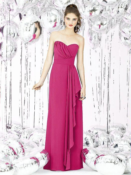Social Bridesmaids Style 8119 http://www.dessy.com/dresses/bridesmaid/8119/?color=fuchsia&colorid=17#.VGV0h908KK0