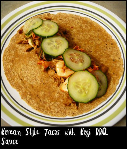 Korean Style Tacos with Kogi BBQ Sauce | Leftover ...