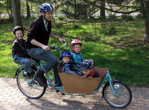 Boxbike with 4 kids by joe-bike, via Flickr