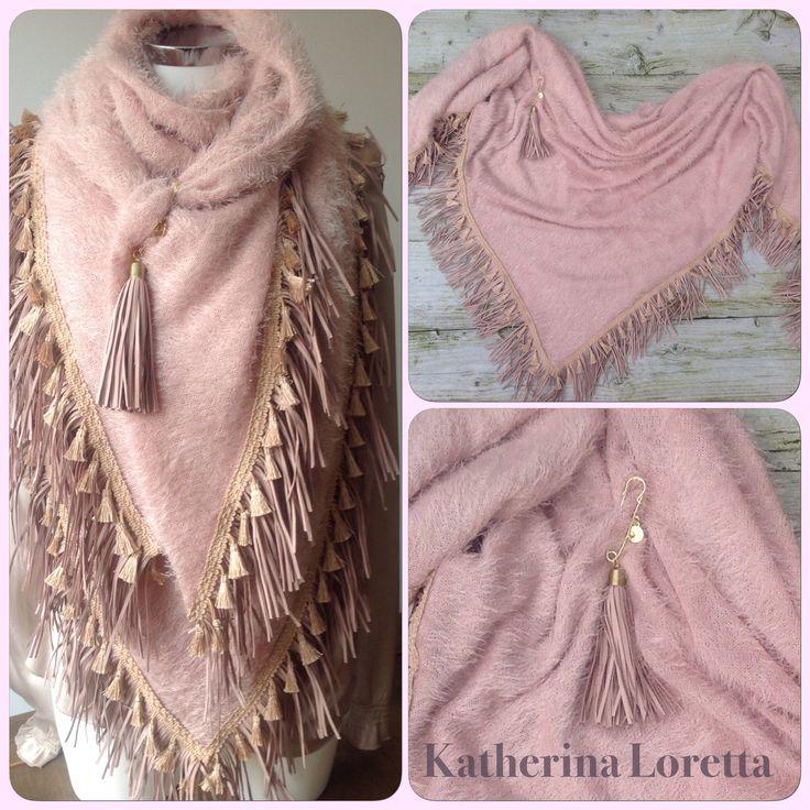 Soft cosi shawl#spring#Tassel#fringe#boho#chique#❤️