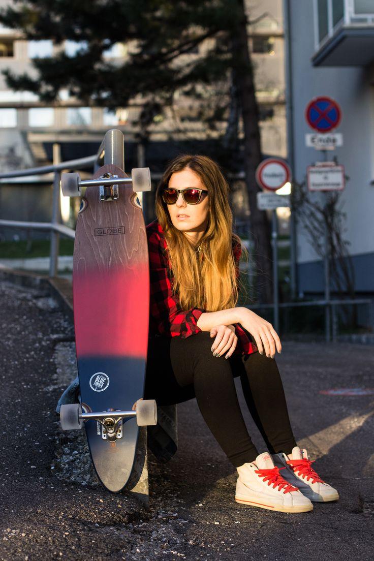 longboard, cruising, globe, blue tomato, streetstyle