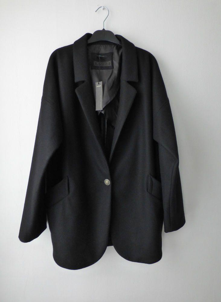 Manteau oversize IKKS - Taille 44 #Autresmanteaux