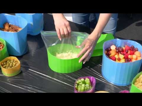 Reusable BagBowl 16-Piece Starter Set by Lori Greiner with Albany Irvin - YouTube