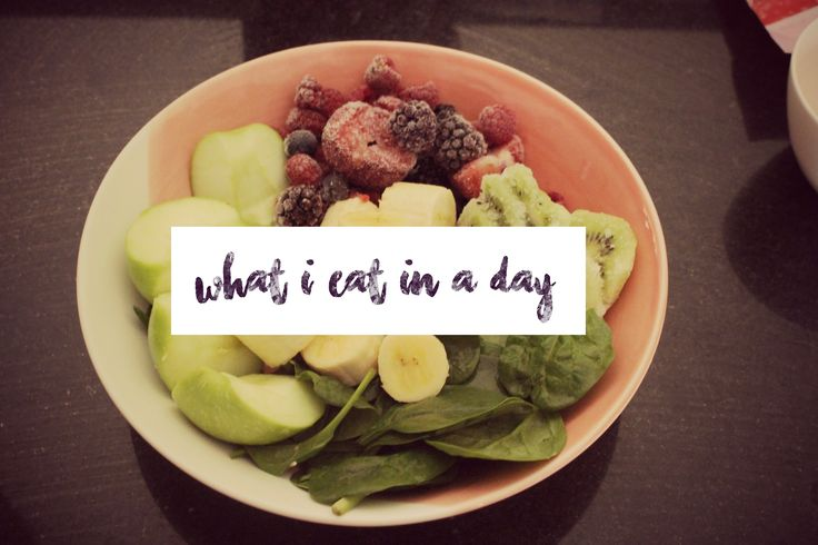 What I Eat In A Day #1