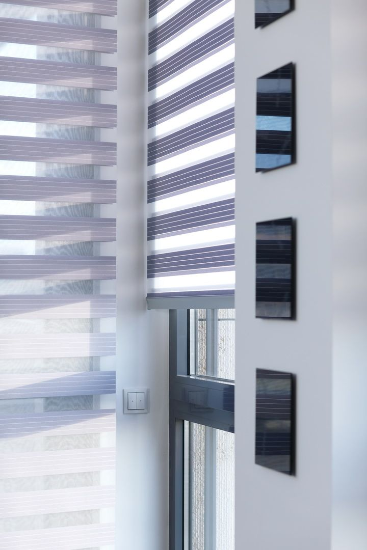 Unland Doppelrollo 488 Lunica, Fensterideen, Gardinen und Sonnenschutz - curtains, contract fabrics, pleated blinds, roller blinds and more. Made in Germany