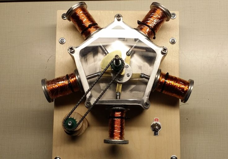 Radial Solenoid Engine