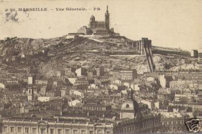 Marseille, vue générale, Vintage Marseille  Find Super Cheap International Flights to Marseile, France ✈✈✈ https://thedecisionmoment.com/cheap-flights-to-europe-france-marseille/
