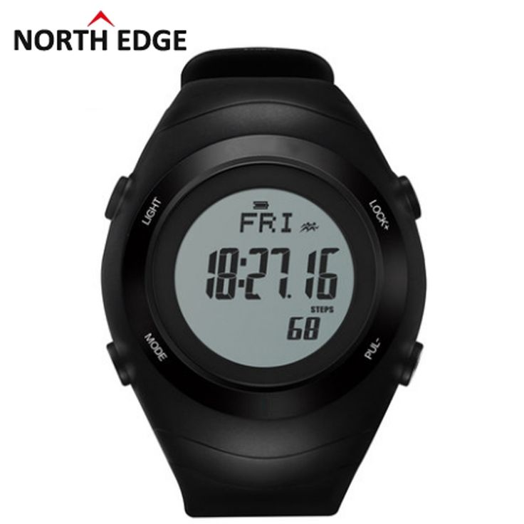 58.99$  Watch here - http://alip5y.shopchina.info/1/go.php?t=32704954255 - Hot!!! NORTH EDGE Heart Rate Monitor Pedometer Calories Men Sports Watches Digital Watch Running Hiking Wristwatch Montre Homme  #buymethat