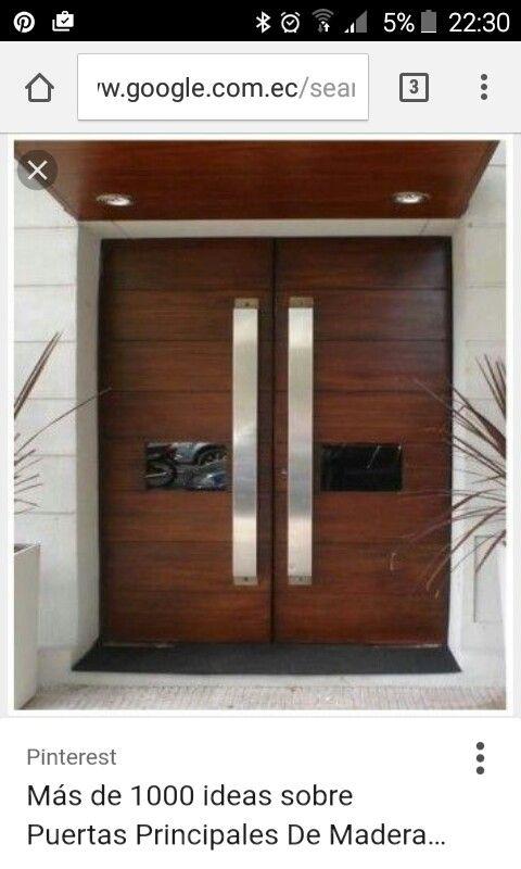 1000 ideas sobre puertas principales de madera en for Puertas principales de madera rusticas