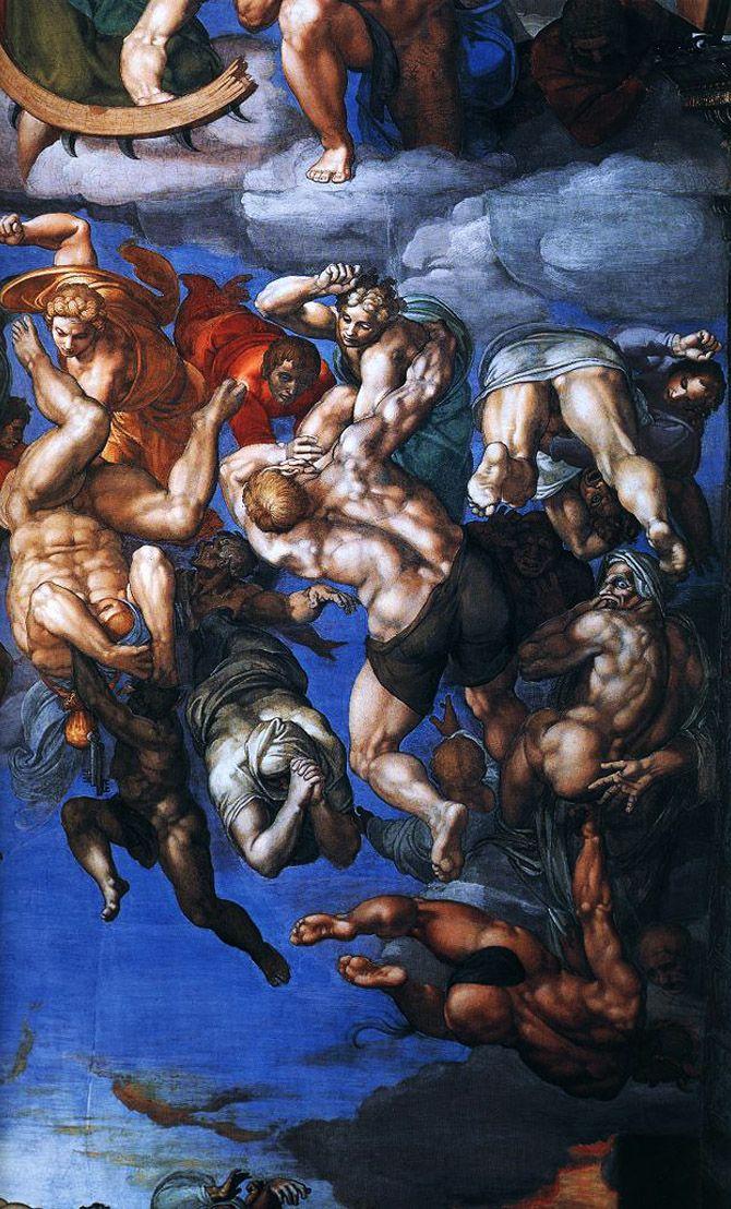Michelangelo's Last Judgment 'inspired by seedy brothel scenes'