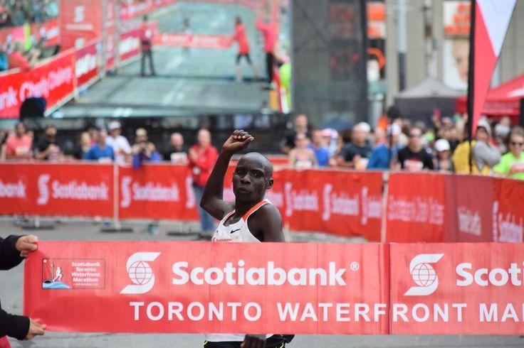 Philemon Rono breaks two records, scores massive payday at Scotiabank Toronto Waterfront Marathon Philemon Rono has now run the fastest marathon in Canada
