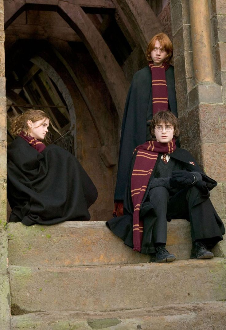 Harry Potter and the Goblet of fire. HP4