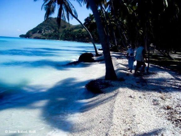 A Beach In Jacmel South West Of Haiti