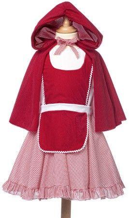 Disfraz de Caperucita Clásica para niña