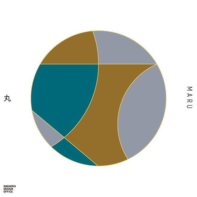 丸 graphic Japan color pattern kanji designer today