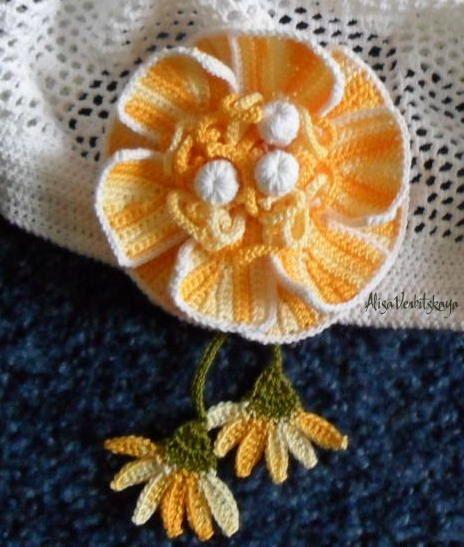 Decorative flower. by AlisaSonya on Etsy