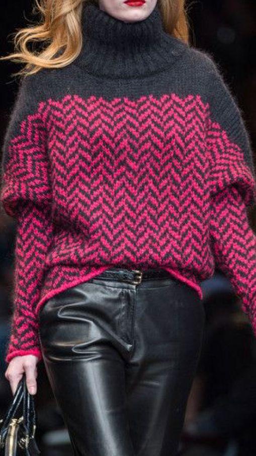 Sweater pattern inspiration