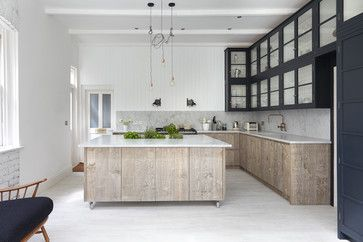 Industrial Chic transitional-kitchen