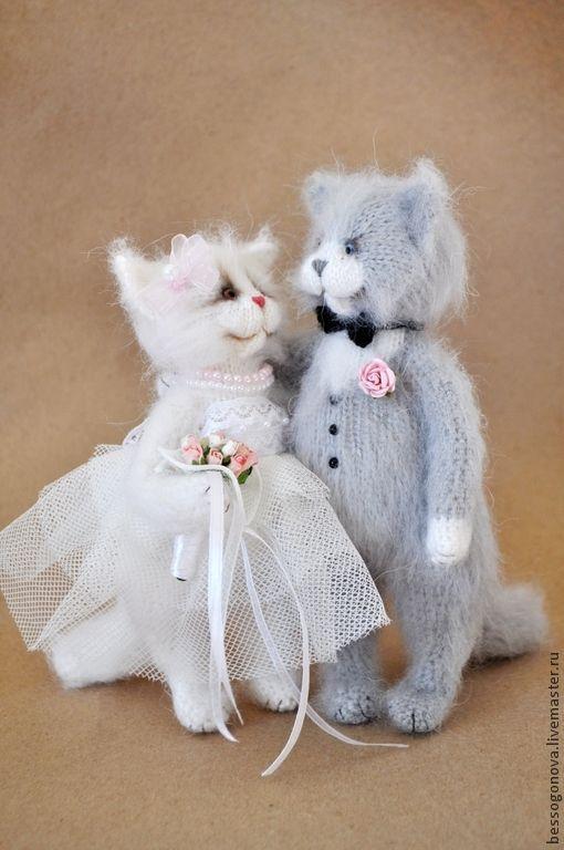 коты жених и невеста картинка мяч ровная