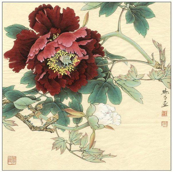Стиль Гунби, китайская живопись Гохуа