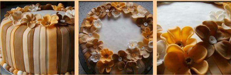 4 kg torta, plnka: orechová