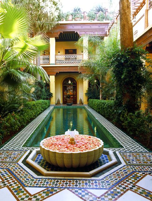 Moroccan style - 1 day, if I could build my own house, one part of the house will look like this