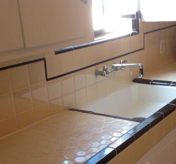 1000 ideas about 1930s kitchen on pinterest vintage for 1930 floor tiles