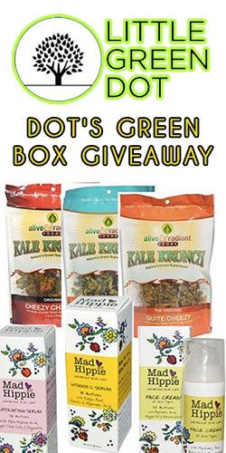 #RePin and Get in on Little Green Dot's Green Box #Giveaway! #competition #health