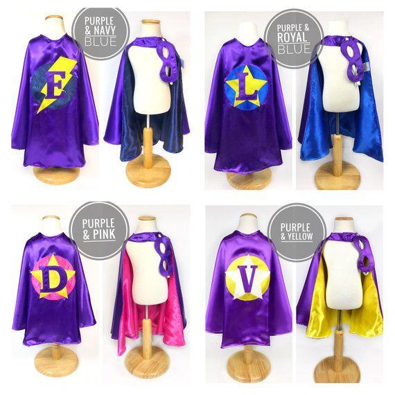 Custom Kids Cape Set /Unisex Clothes /Superhero Birthday