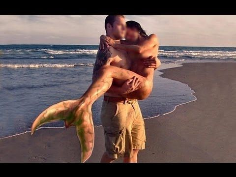 REAL MERMAID FOUND ON BEACH IN UKRAINE 2016 - YouTube