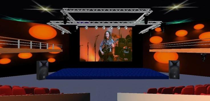 Salle de concert du parc d'exposition 3d Batilogis