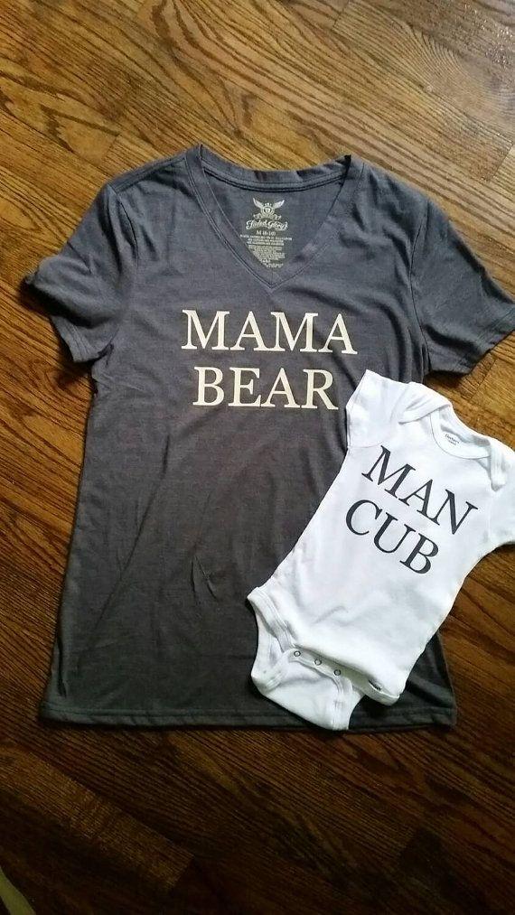 Hey, I found this really awesome Etsy listing at https://www.etsy.com/listing/242860642/mama-bear-man-cub-shirtsonesie-2-pieces