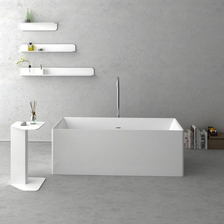 NAVONA Solid Surface Bathtub | Cheviot