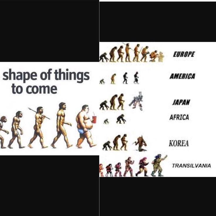 世界からみた人類の進化と退化 The evolution of human in the world  私達は日々成長し科学やテクノロジーの進化で便利な時代になって発展を遂げている一方ロコモティブシンドロームや肥満筋骨格系の肉体的な症状は先進国で多く見られるような気がします  肉体的に進化するには野生的に運動はかかせません  #筋骨格系 #masculo  #evolution #進化 #退化 #ロコモティブ #肩凝り #腰痛 #肥満 #ストレッチ #コンディショニング #メンテナンス #筋トレ #トレーニング #インナーマッスル #コアトレ #体幹 #パーソナル #ボディビルディング #ボディメイク #肉体改造 #筋肉 #マッチョ #ワークアウト #muscle