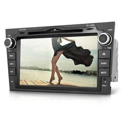 "8"" 2 Din In-Dash Car DVD Player Bluetooth GPS + 4G SD America Map for Honda CRV"