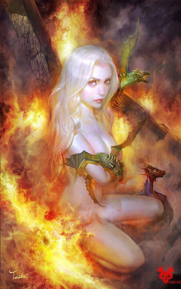 Awesome Daenerys! #got #agot #asoiaf