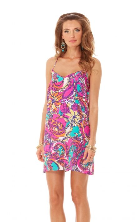 Dusk Dress In Sea And Be Seen Multi Lilly Pulitzer