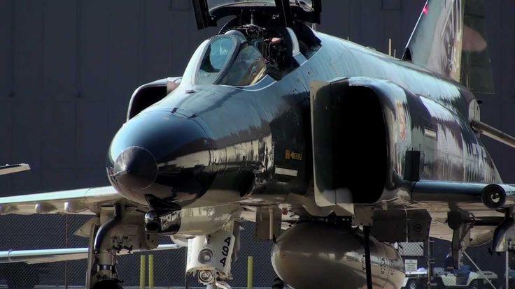 F4 Phantom Engine Start Up and Take Off - YouTube