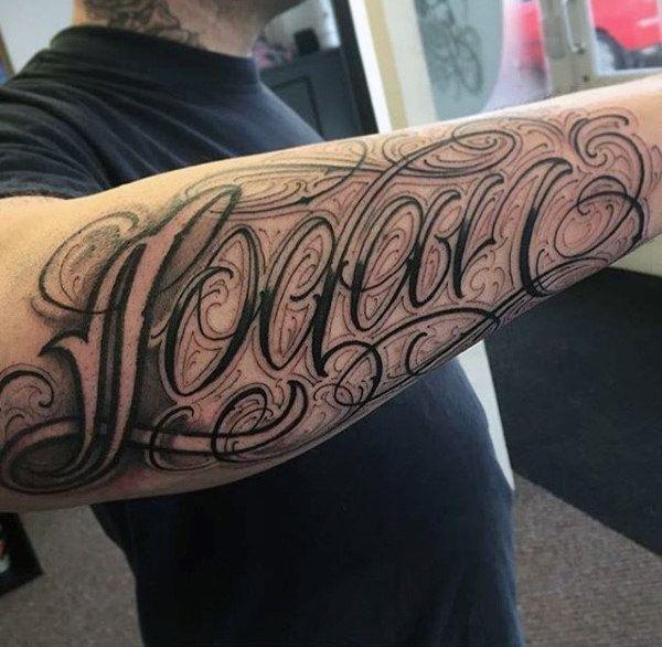 28 best tattoo lettering images on pinterest for men for Best tattoo fonts for guys