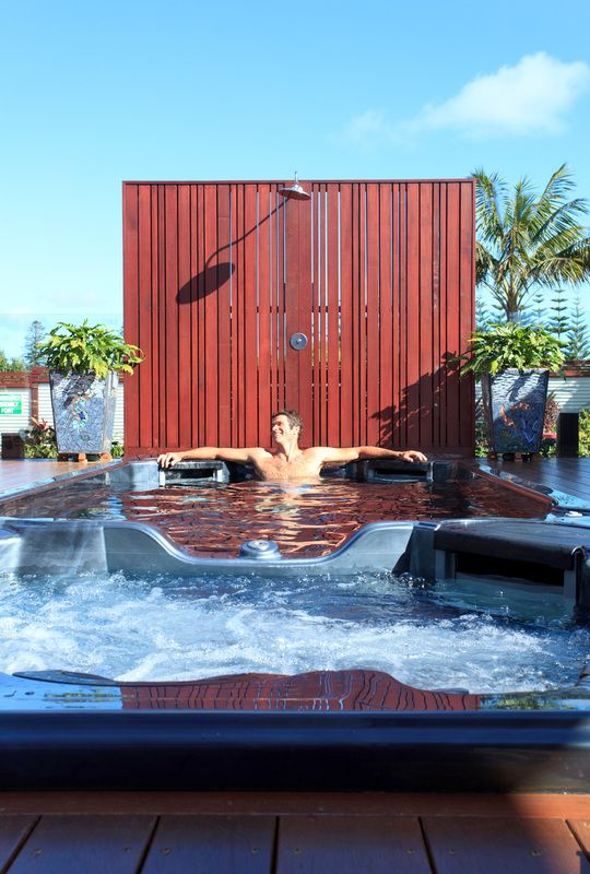 Relax you're on island time...Escape to luxury at The Tin Sheds, Norfolk Island. alluxia