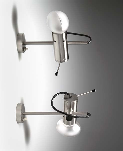 Tito Agnoli; #251 Wall Lights for O-Luce, 1955.