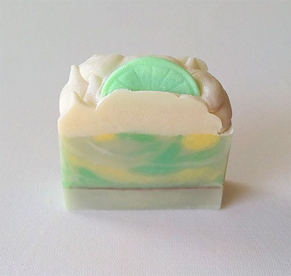 Coconut Lime Verbena Soap by TEXOAP on Etsy