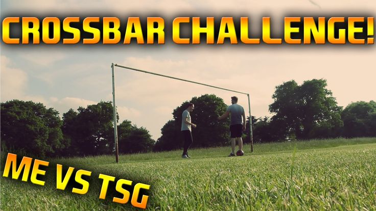 THE CROSSBAR CHALLENGE.. CHALLENGE! | ME VS TSG