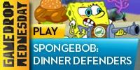 Spongebob: Dinner Defenders at YTV Games, home of addictive free online flash games!