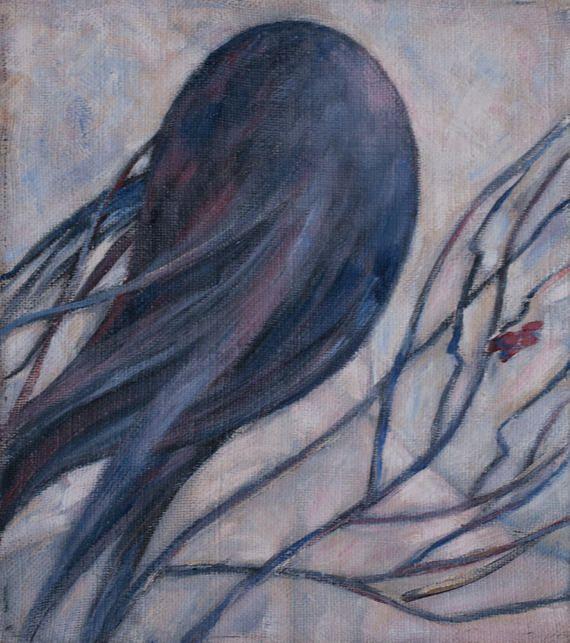 Winter Nude Vintage Painteng