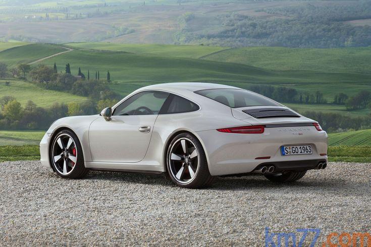 Porsche 911 Carrera Edición 50º Aniversario Edición 50º Aniversario Coupé Blanco Carrara Exterior Lateral-Posterior 2 puertas