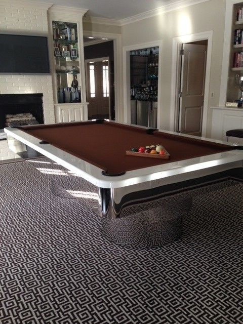 Designer Pool Tables modern pool table by mitchell by mitchell pool tables contemporary family room 10 Inspirational Modern Pool Tables
