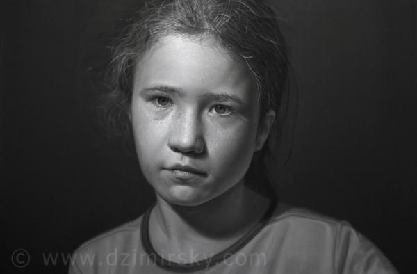 Portrait Drawings by German artist Dirk Dzimirsky