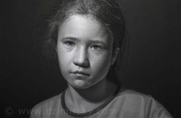 Portrait Drawings by German artist Dirk Dzimirsky